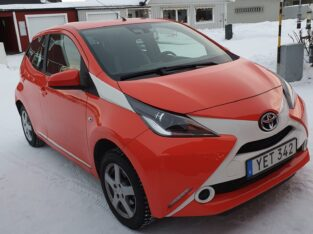 Toyota aygo manuell 2016