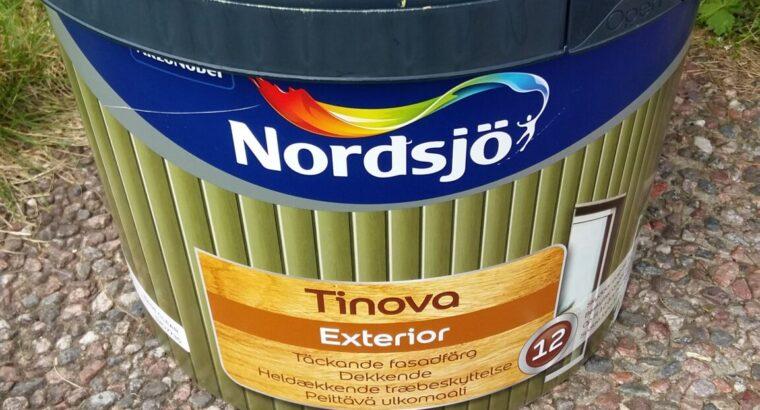 10 liter herrgårdsgul fasadfärg