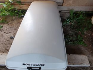 Vit takbox Mont Blanc Längd 2.16 cm bredd 90
