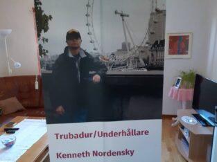Trubadur och Underhållare Kenneth Nordensky