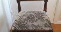 Rustikt, stort matbord+4 stolar f