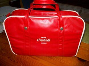 Coca Cola 50-tals kylbag; samlarobjekt.