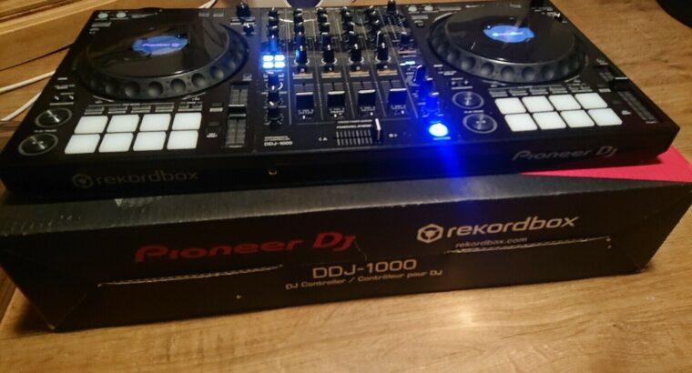 Helt ny Pioneer DJ DDJ-1000 4-kanalskontroller för