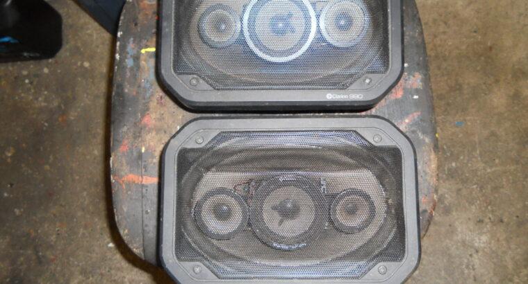 Bil högtalare clareon 990 bak