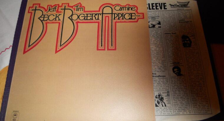 LP Skivor pop rock hårdrock