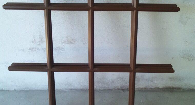 Lösa spröjs, 3 st. till 14×13 fönster (106×114 cm)