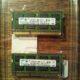 2 st. RAM-minnen Samsung 2Rx8 PC3 – 1066S-09-10-F2