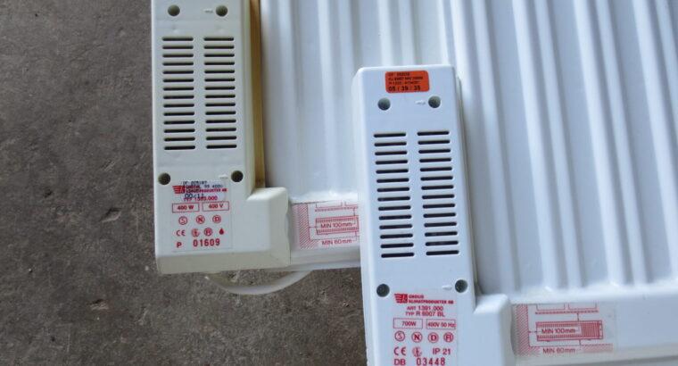 Elradiatorer oljefyllda
