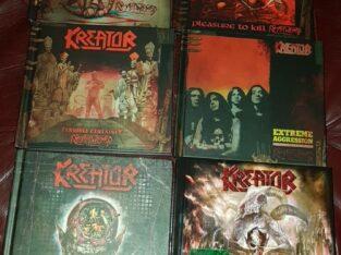 Hårdrocks cd-skivor med Kreator