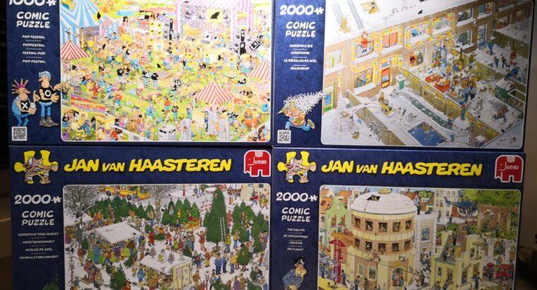 Kvalitets pussel Jan Van Haasteren