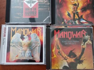 Manowar cd skivor