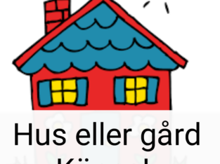 Hus köpes