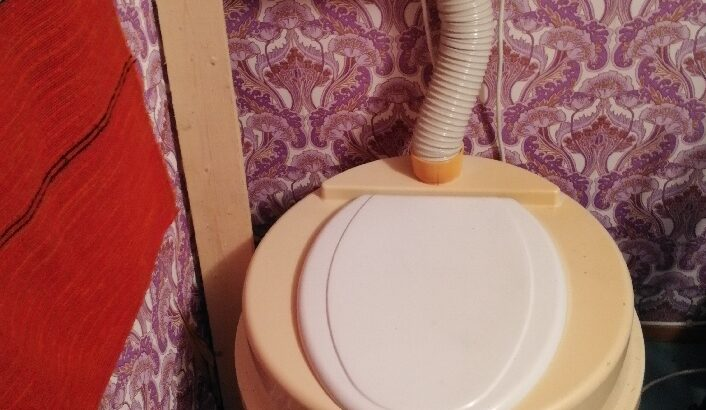 Husqvarna elektrisk toalett