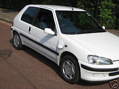 Elbil, Peugeot 106, 1997. Med eller utan batt.