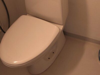 WC-Stol med sitsen !